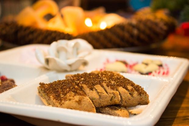 Lemon-Chestnut Biscuits